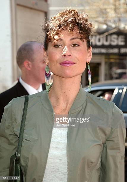 Minnie Driver during Ella Enchanted New York Premiere Outside Arrivals at Clearview Beekman Theatre in New York City New York United States