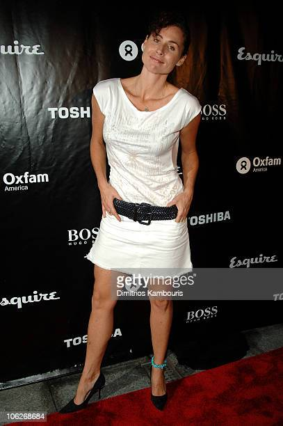 Minnie Driver during Esquire and Minnie Driver Host Oxfam America Charity Event at Esquire Downtown in New York City New York United States