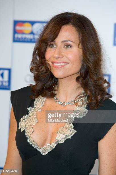 Minnie Driver during FIFPRO World XI Player Awards at BBC Television Centre in London Great Britain