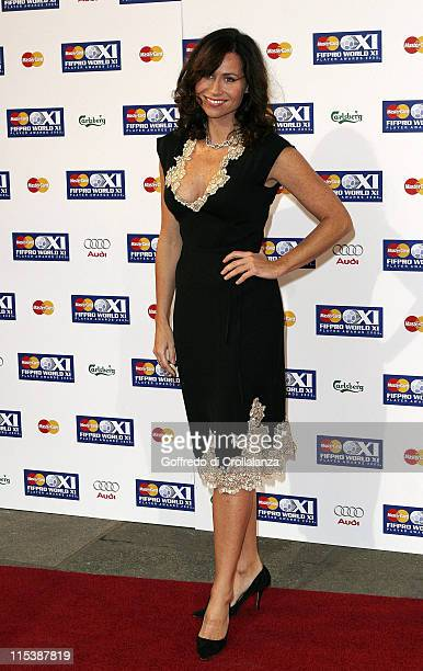 Minnie Driver during FIFPRO World XI Player Awards at Wembley Conference Centre in London Great Britain