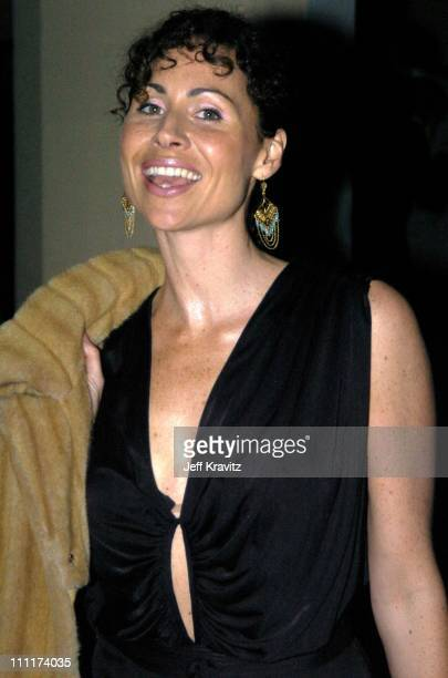 Minnie Driver during HBO Films Pre Golden Globes Party Inside Coverage at Chateau Marmont in Los Angeles California United States