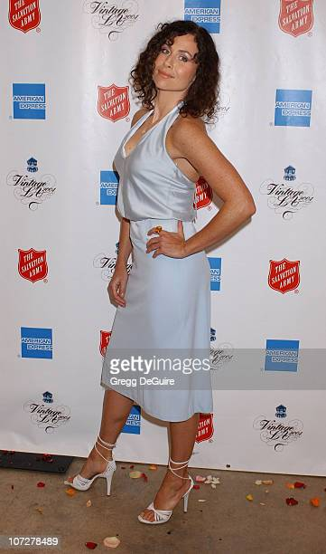 Minnie Driver during Minnie Driver Hosts Vintage LA Fashion Show Benefiting The Salvation Army Alegria at The New Mart in Los Angeles California...