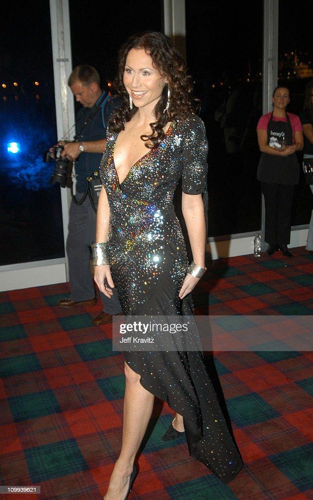 Minnie Driver during MTV Europe Music Awards 2003 - Arrivals at Ocean Terminal Arena in Edinburgh, Scotland.