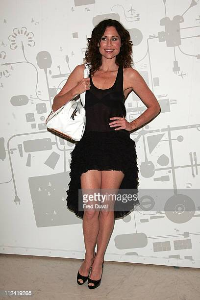 Minnie Driver during Puma Urban Mobility Launch Photocall at Selfridges in London Great Britain