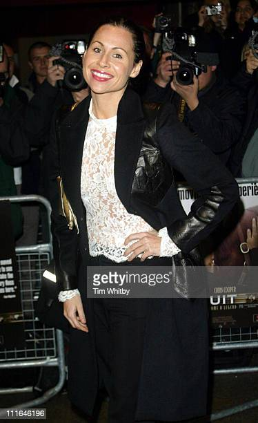Minnie Driver during 'Seabiscuit' Charity Screening in London at Warner Village Cinema Leicester Square in London Great Britain