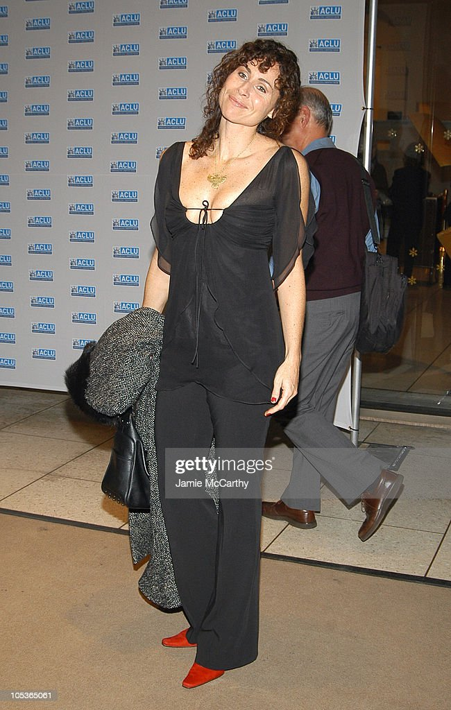 Minnie Driver during The ACLU Freedom Concert - Arrivals at Avery Fisher Hall at Lincoln Center in New York City, New York, United States.