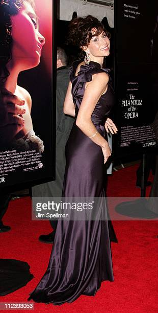 Minnie Driver during 'The Phantom of the Opera' New York City Premiere Outside Arrivals at Ziegfeld Theater in New York City New York United States