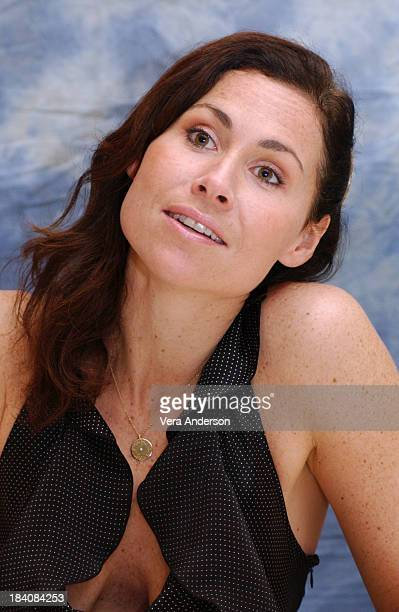 Minnie Driver during The Phantom of the Opera Press Conference with Emmy Rossum Gerard Butler Joel Schumacher Minnie Driver and Patrick Wilson at...