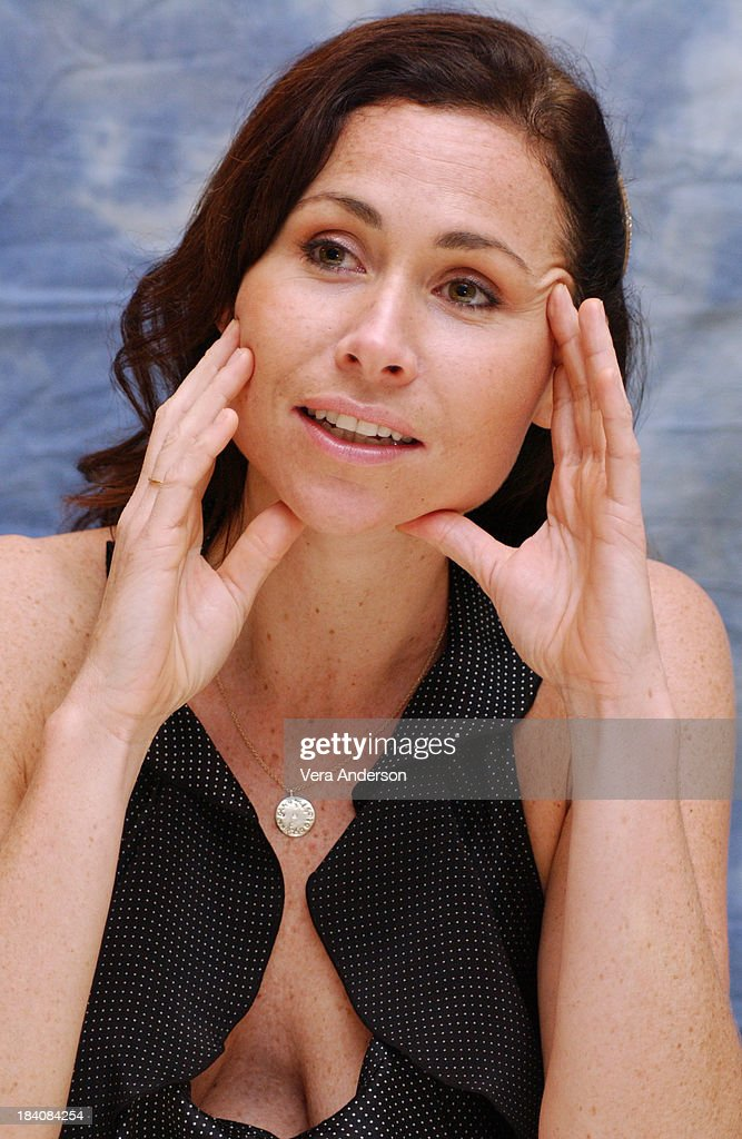 Minnie Driver during The Phantom of the Opera Press Conference with Emmy Rossum, Gerard Butler, Joel Schumacher, Minnie Driver and Patrick Wilson at Four Seasons Hotel in Beverly Hills, California, United States.