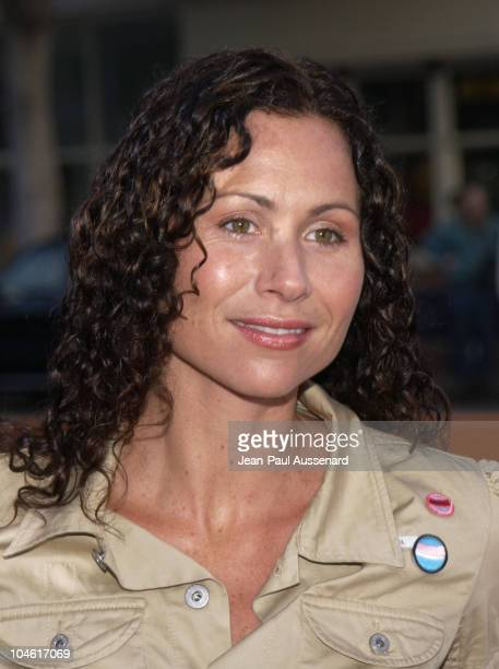 Minnie Driver during 'XXX' Premiere in Los Angeles at Mann's Village in Westwood California United States