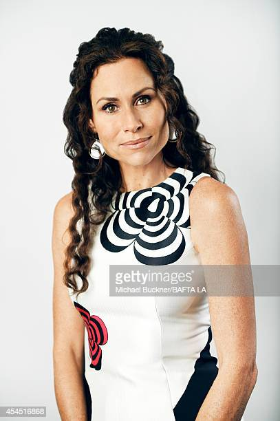 Minnie Driver poses for a portrait at the BAFTA luncheon on August 23 2014 in Los Angeles California