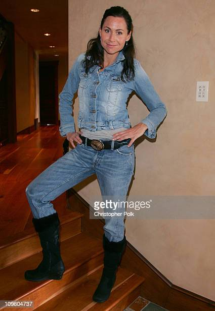 Minnie Driver with Lee Jeans at The North Face House *Exclusive Coverage*
