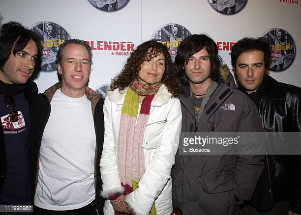 Minnie Driver with Pete Yorn and band during 2004 Park City Blender Sessions Trampoline Showcase Featuring Pete Yorn and Special Guest Minnie Driver...