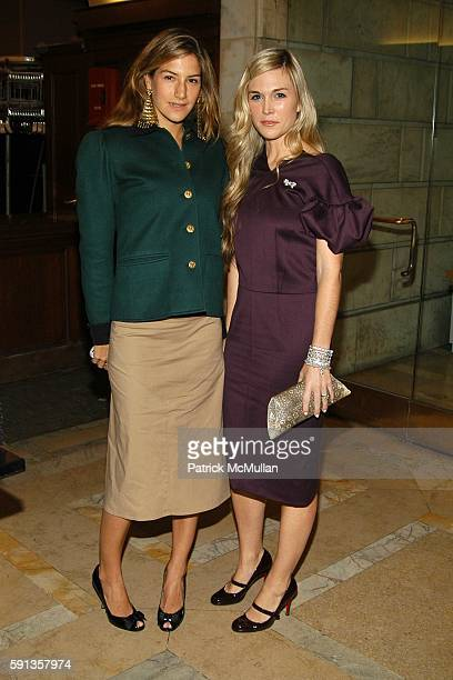 Minnie Mortimer and Tinsley Mortimer attend Vanity Fair Editor Graydon Carter and Saks Chairman CEO Fred Wilson host a private screening of Eleanor...