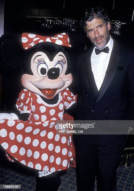 Minnie Mouse and actor Elliott Gould attend the Variety Club of Southern California's Fourth Annual Big Heart Award Salute to Patricia and Roy Disney...