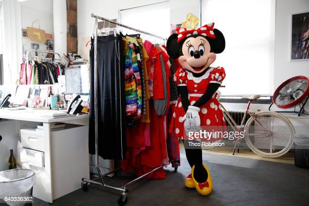 Minnie Mouse at Refinery29 on September 6 2017 in New York City