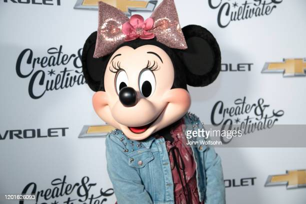 Minnie Mouse attends the 4th Annual Create & Cultivate 100 list hosted by Create & Cultivate and Chevrolet at Valentine DTLA on January 23, 2020 in...