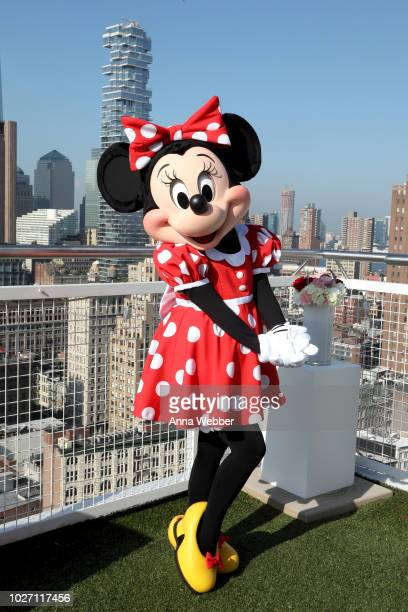Minnie Mouse attends the #MinnieStyle Suite celbrating Minnie Mouse's 90th Anniversary at Nomo Soho Hotel on September 5 2018 in New York City
