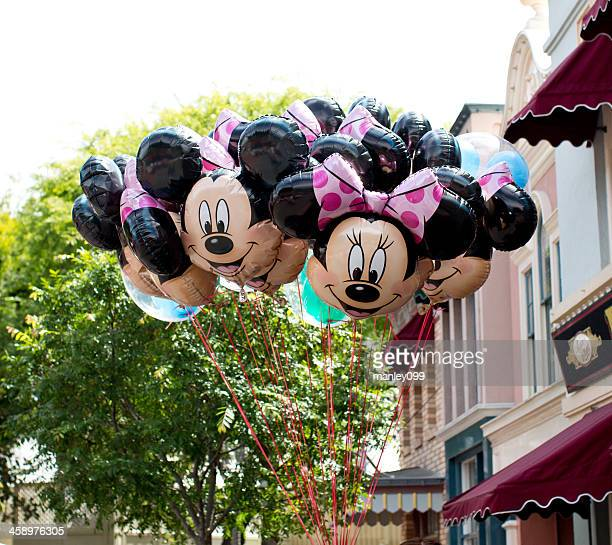 minnie mouse balloons for sale - minnie mouse stock pictures, royalty-free photos & images