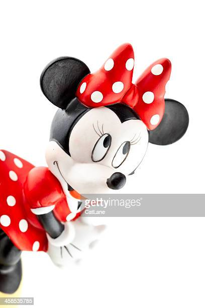 personnages disney minnie mouse - minnie mouse photos et images de collection