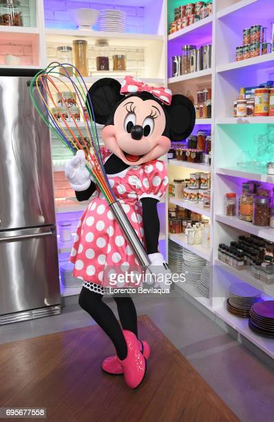 THE CHEW Minnie Mouse makes a surprise appearance and Katie Lee is the guest Tuesday June 13 2017 on ABC's 'The Chew' 'The Chew' airs MONDAY FRIDAY...