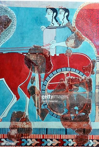 Minoan chariotriders from the palace of Knossos