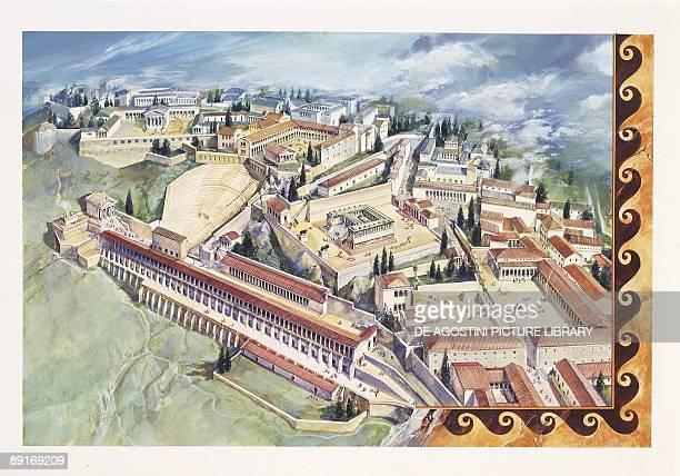 Minor Asia Reconstruction of Pergamon illustration