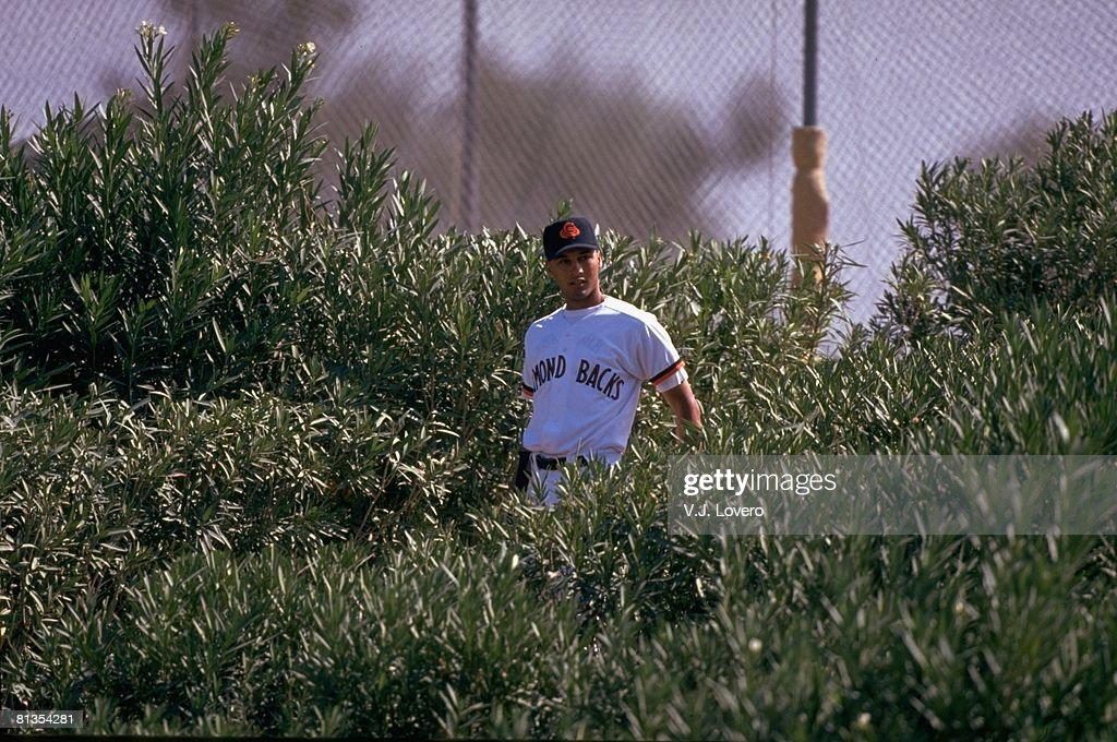 Chandler Diamondbacks Derek Jeter, 1994 Arizona Fall League : News Photo