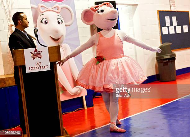 Minor VP Marketing at HIT Entertainment attend 'So You Think You Can Dance' attends First Angelina Ballerina Stars of Tomorrow and Dizzy Feet...