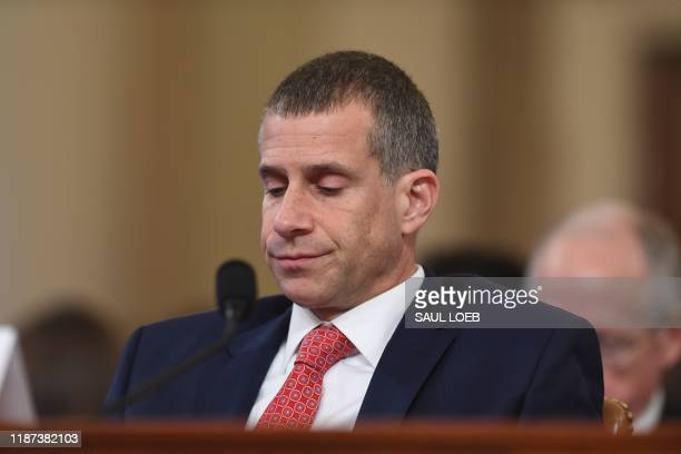 Minority Counsel Stephen Castor testifies during the House Judiciary Committee hearing as part of the impeachment inquiry into US President Donald...