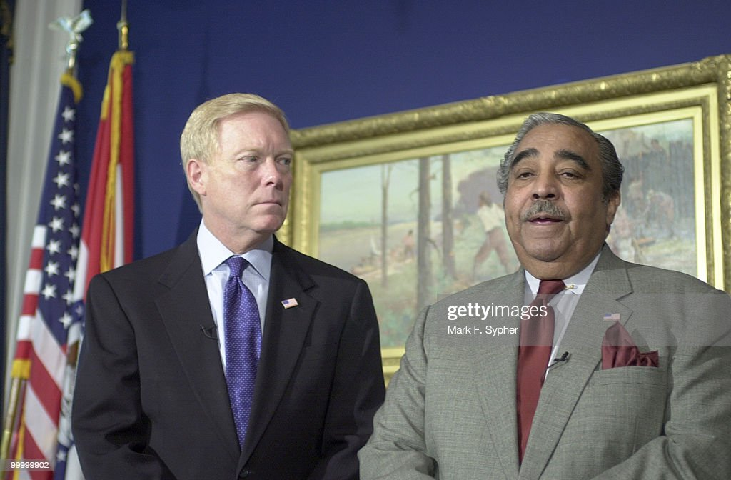 Minority Leader, Rep. Richard A. Gephardt (D-MO) and Rep. Charles B. Rangel (D-NY) spoke in Rep. Gephardt's dugout, questioning the House Republicans decesion to not federalize airline security. Rep. Gephardt seemed astonished that '90% of the baggage in the belly of our airliners goes unsensored' and added 'not only are our adversaries willing ot die, they want to die.'
