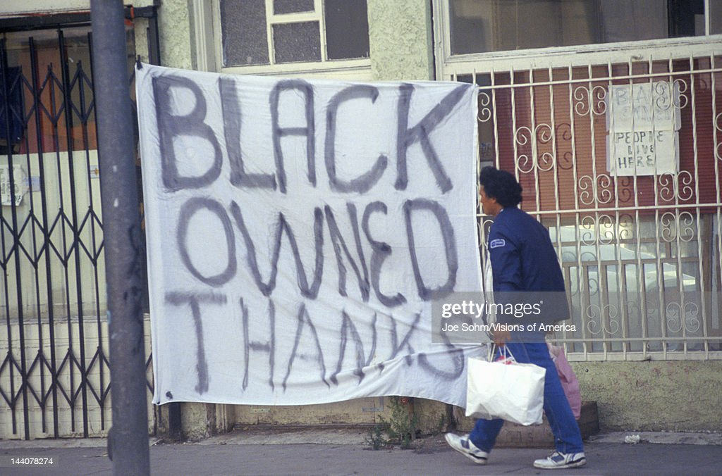 Minority Owned Apartment Building In South Central Los Angeles California News Photo
