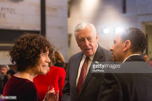 Minority Whip Steny Hoyer was in attendance at the Commemoration of the Bicentennial of the Birth of Frederick Douglass in Emancipation Hall of the...