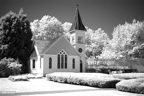 minoru chapel - richmond british columbia stock photos and pictures