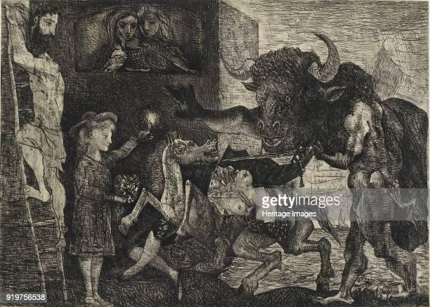 Minotauromachie 1935 Artist Pablo Picasso