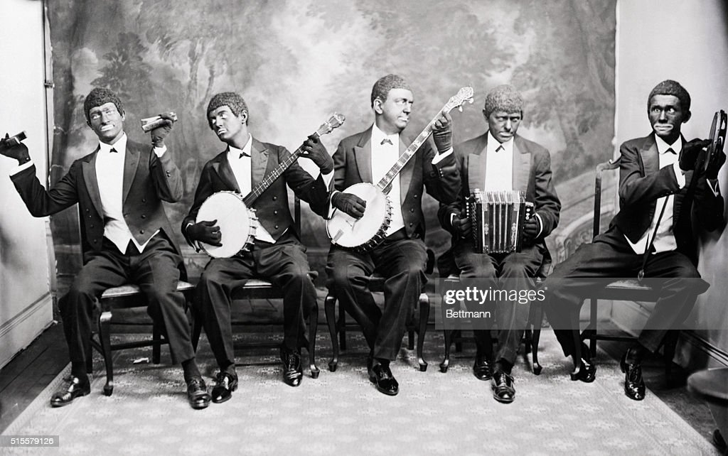 Minstrel Group of Edward Le Roy Rice : News Photo