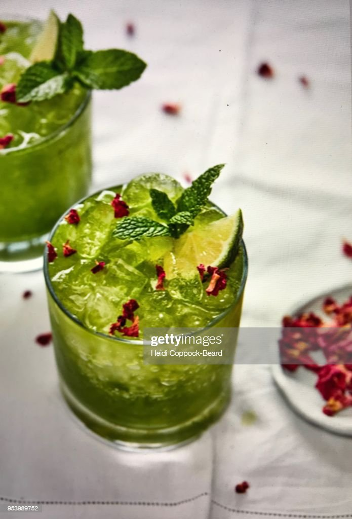 Mint drink : Stock Photo