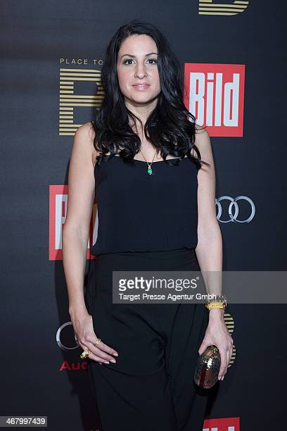 Minu Barati attends the BILD 'Place to B' Party at Grill Royal on February 8 2014 in Berlin Germany
