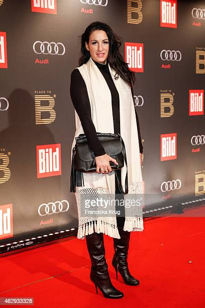 Minu Barati attends the Bild 'Place to B' Party on February 07 2015 in Berlin Germany