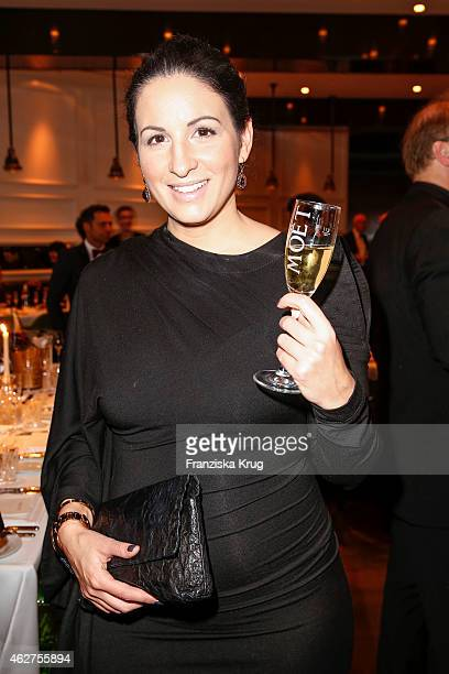 Minu Barati attends the Moet Chandon Grand Scores Dinner on February 04 2015 in Berlin Germany
