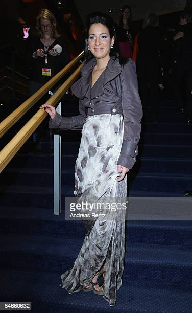 Minu Barati attends the opening ceremony as part of the 59th Berlin Film Festival at the Berlinale Palast on February 5 2009 in Berlin Germany