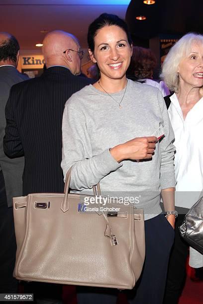 Minu Barati Fischer attends the 'Neben der Spur Adrenalin' premiere as part of Filmfest Muenchen 2014 at Rio Filmpalast on July 1 2014 in Munich...