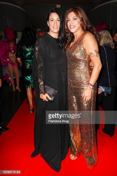 Minu BaratiFischer and Alice Brauner during the 100th birthday celebration gala for Artur Brauner at Zoo Palast on September 8 2018 in Berlin Germany...