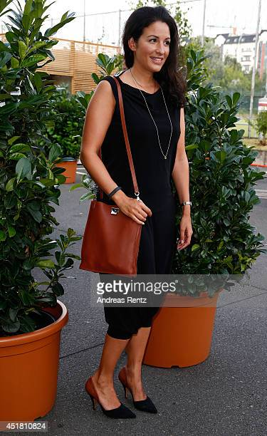 Minu BaratiFischer arrives for the Opening Night by Grazia fashion show during the MercedesBenz Fashion Week Spring/Summer 2015 at Erika Hess...