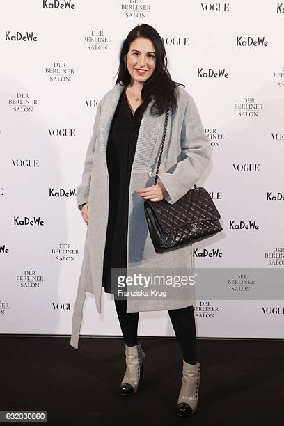 Minu BaratiFischer attends the celebration of 'Der Berliner Mode Salon' by KaDeWe Vogue at KaDeWe on January 18 2017 in Berlin Germany