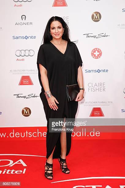 Minu BaratiFischer during the German Film Ball 2016 at Hotel Bayerischer Hof on January 16 2016 in Munich Germany