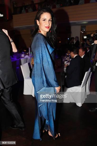Minu BaratiFischer during the German Film Ball 2018 at Hotel Bayerischer Hof on January 20 2018 in Munich Germany