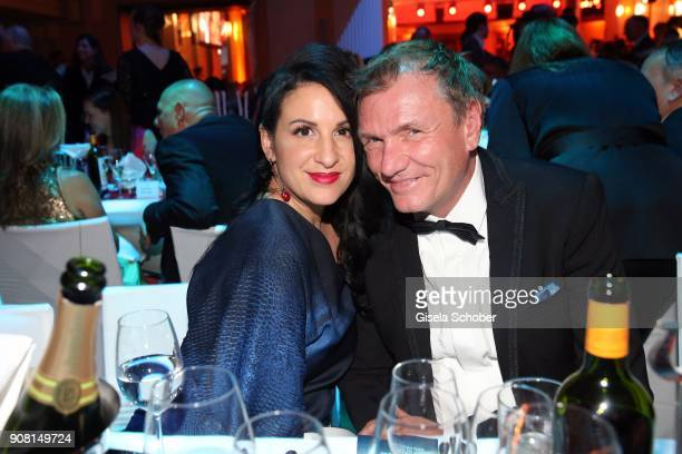 Minu BaratiFischer during the German Film Ball 2018 party at Hotel Bayerischer Hof on January 20 2018 in Munich Germany