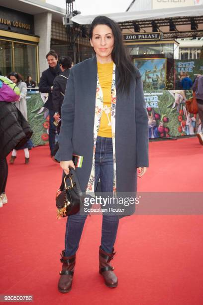 Minu BaratiFischer during the 'Peter Hase' premiere at Zoo Palast on March 11 2018 in Berlin Germany