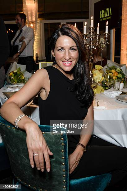 Minu BaratiFischer poses at the Grazia Best Dressed Award at Soho House on May 14 2014 in Berlin Germany